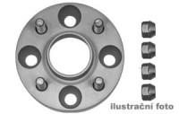 HR podložky pod kola (1pár) MAZDA 626 GD Diesel rozteč 114,3mm 4 otvory stř.náboj 59,5mm -šířka 1podložky 25mm /sada obsahuje montážní materiál (šrouby, matice)