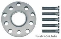 HR podložky pod kola (1pár) MAZDA MX-5 NA rozteč 100mm 4 otvory stř.náboj 54,1mm -šířka 1podložky 5mm /sada obsahuje montážní materiál (šrouby, matice)